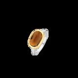 Abbildung vonTI SENTO Milano Ring Silver gold plated Brown Damen 12178TB