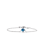 Image ofTI SENTO Milano Bracelet Blue Silver Plated 2912DB