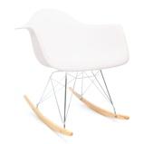 Afbeelding vanEames RAR schommelstoel wit
