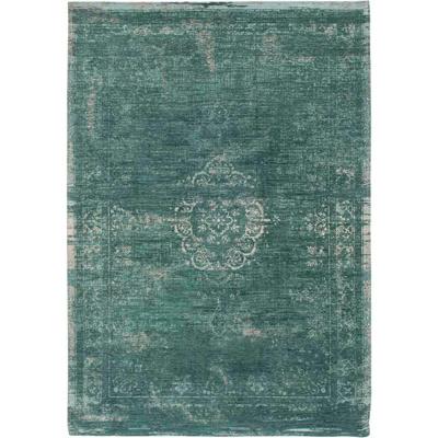 Afbeelding van Louis de Poortere Fading World Medallion vloerkleed (Afmetingen: 200x140 cm, Basiskleur: groen)