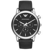 Afbeelding vanArmani AR1828 Luigi horloge herenhorloge Zwart
