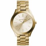 Afbeelding vanMichael Kors MK3179 - Runway Slim ll - Horloge dameshorloge horloge Goudkleur