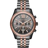 Afbeelding vanMichael Kors MK8561 Lexington Chrono horloge dameshorloge Rosekleurig,Grijs