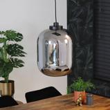 Abbildung vonHängelampe Reflex 1 flammig modern Glas 45 cm