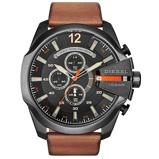 Afbeelding vanDiesel DZ4343 Mega Chief horloge herenhorloge horloge Zwart