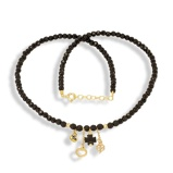 Imagine dinHandmade Black Agate Necklace