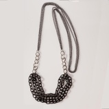 Imagine dinLong Chain Necklace Black