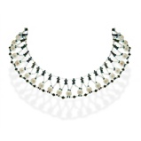 Imagine dinHandmade Beaded Choker Necklace with Pearls