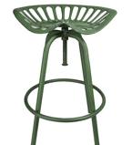 Afbeelding vanEsschert Design Industrial Heritage Tractor kruk (Kleur zitting: groen)