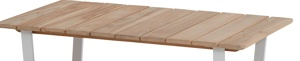 Afbeelding van 4SO Cricket coffeetable teak top 120 x 70 cm