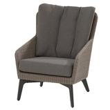 Afbeelding van4 Seasons Outdoor Luxor lounge stoel wicker
