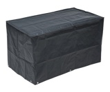 Afbeelding vanNature Hoes voor gasbarbecue 58x103x58 cm PE donkergrijs 6030613