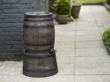 Afbeelding vanNature Standaard voor regenton met hout look 45x28,5 cm bruin