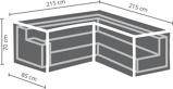 Afbeelding vanOutdoor Covers tuinmeubelhoes loungeset hoekopstelling (tot 215 cm)