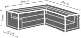 Afbeelding vanOutdoor Covers tuinmeubelhoes loungeset hoekopstelling (tot 250 cm)