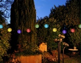Afbeelding vanAnna's Collection 10st solar lampion wit 8 cm