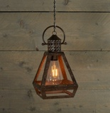 Afbeelding vanAnna's Collection Solar led filament lamp roest 30 cm