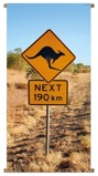 Afbeelding vanPB Collection Banner Down Under Road Sign 85x170cm