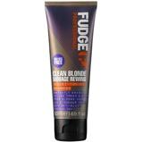 Afbeelding vanFudge Clean Blonde Damage Rewind Violet Shampoo 50ml zilvershampoo