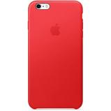Abbildung vonApple iPhone 6 Plus Hülle Echtleder Apple® Backcover Rot