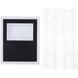 Afbeelding vanArti Casa ArtiCasa letterbord met fotolijst 188 letters 28x23x3cm