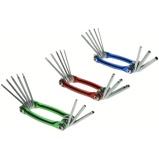 Afbeelding vanHofftech Torx, Zeskant, Inbus Bolkop Sleutels (Set van 3)