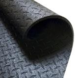 Afbeelding vanBody Solid Beschermmat/Vloermat 183 cm x 122 1,27 Zwart Rubber