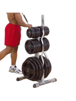 Thumbnail of Body Solid Olympic Plate Tree & Bar Holder