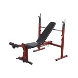 Afbeelding vanBest Fitness HalterBank Inklapbaar BFOB10 met Beentrainer