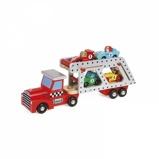 Afbeelding vanJanod Vrachtwagen met Racewagens Hout
