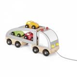 Afbeelding vanJanod Trekfiguur Vrachtwagen met 3 Racewagens