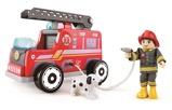 Afbeelding vanHape houten brandweerauto rood 20 cm