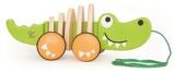 Afbeelding vanHape houten trekdier krokodil 29 cm groen