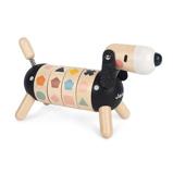 Afbeelding vanJanod Hond in Sweet Cocoon Vormen en Kleuren Hout