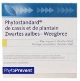 Afbeelding vanPhytostandard Zwarte aalbes/weegbree (30 tabletten)