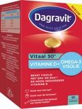 Afbeelding vanDagravit Vitaal 50+ Vitamine D & Omega 3 Visolie 90 capsules