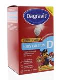 Afbeelding vanDagravit Kids calcium & vitamine D (90 tabletten)