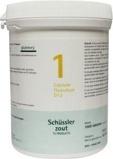 Afbeelding vanPfluger Calcium fluoratum 1 D12 Schussler (1000 tabletten)