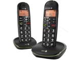 Afbeelding vanDoro Phone Easy 100W Duo Big Button Telefoon Zwart
