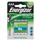 Afbeelding vanOplaadbare NiMH Batterij AAA 1.2 V Extreme 800 mAh 4 Blister Energiz
