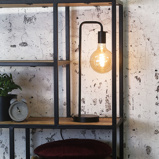 Image of Lampe De Table Cali Industriel Tube U