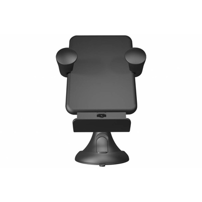 Afbeelding van Zens Wireless car charger with stand (USB cable) 5 black
