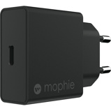 Afbeelding vanMophie Wall Adapter USB C 18W Black EU