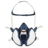 Afbeelding van3M 4255 FFA2 P3 R D Halfgelaatsmasker Blauw One Size Halfgelaatsmaskers Onderhoudsvrij