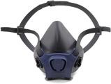 Afbeelding vanMoldex 700301 Halfgelaatsmasker Grijs/blauw L Halfgelaatsmaskers Met Bajonetaansluiting