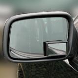 Afbeelding vanCarpoint dodehoekspiegel zelfklevend 4,8 x 2,9 cm zwart