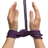 Afbeelding vanFifty Shades of Grey bondage rope twin pack rood en zwart