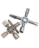 Billede afKNIPEX TwinKey® til almindelige skabe og spærresystemer 92 mm