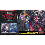 Imagine dinCardFight Vanguard TCG: Team Dragon's Vanity! Extra Booster Box (12 Packs)