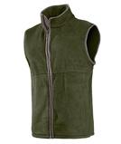 Image ofBaleno Harvey Bodywarmer Green Khaki Fishing zip jacket